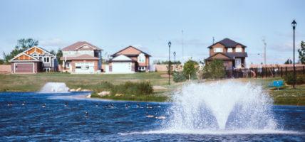 Lake Vista (Martensville) Scene