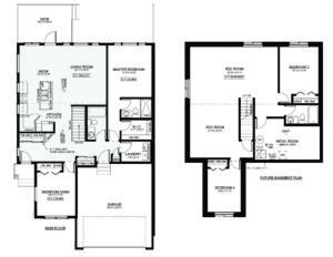 #1 – 3210 11th Street West Floor Plan