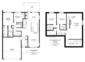 #2 – 103 Pohorecky Crescent (The Pines) Floor Plan