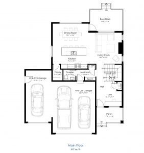 610 Meadows Boulevard Floor Plan