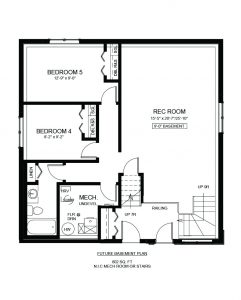1356 Parr Hill Drive Floor Plan