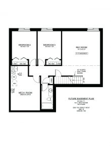 #18 – 3206 11st Street West Floor Plan