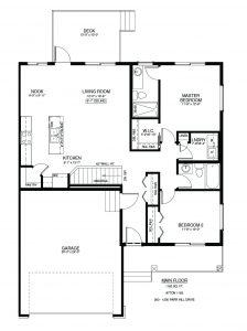 #200 – 1200 Parr Hill Drive Floor Plan