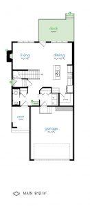 626 Kensington Boulevard Floor Plan