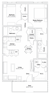 #506 – 110 Ahktar Bend Floor Plan