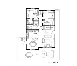 45 Bryden Road at Lakeside Floor Plan