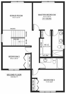 163 Germain Court Floor Plan