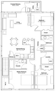 514-110 Akhtar Bend Floor Plan
