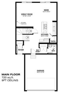 855 LaBine Crescent Floor Plan